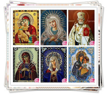 sale 5D Round diamond painting diy diamond painting embroidery cross stitch Home Decor dimond mosaic religious for people gift(China)