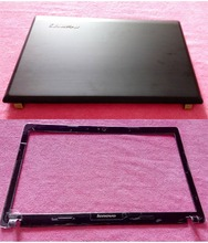 New original Lenovo G580 G585 LCD Back Cover+Lcd Front Bezel Cover AP0N2000404 AP04R000100(China)