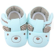 Cotton Baby Shoes 4 Patterns Soft Sole Cat Elephant Bear Face Newborn Girls Boys First Walker Toddler Prewalker Size 11 12 13