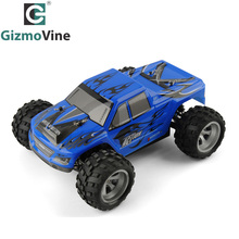 GizmoVine A979 RC Car 2.4G Radio Remote Control Model Scale 1:18 Rally Shockproof Rubber wheels Buggy Highspeed Off-Road(China)