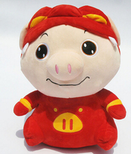 New product ideas and lovely pig plush toys smart lovely pig is his favorite pillow doll