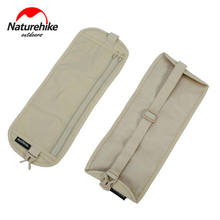 Naturehike Outdoor Sports Running Waist Bag Belt invisible Ultralight thin personal Mobile Money Phone Belt Stealth Wallet Pouch