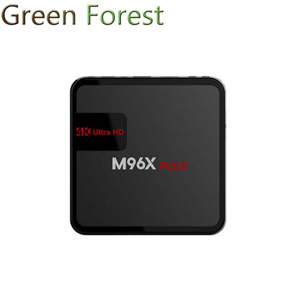 M96X Plus Android 6.0 TV Box S905X Quad-core 2G/16G 2.4GHz WIFI KODI 16.1 Bluetooth 4K 1080P IPTV 3D Media Player Set Top Box<br><br>Aliexpress