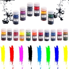 10g Resin Pigment Dye Mix Colors Liquid DIY Art Craft Colorant For Silicone Mold -W128(China)