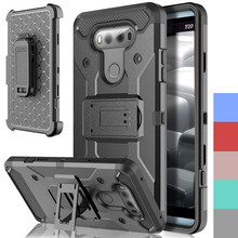 Buy Hybrid Heavy Duty Armor Case Durable Fundas Capa Holster+Belt Clip Kickstand Shockproof Hard Phone Covers LG V20 @ for $5.59 in AliExpress store