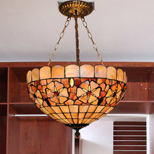 110-240V Free Shipping Tiffany Metal light pendant D55CM With 3 Lights For Dining Room E27 Excluded Led Bulbs Is Available