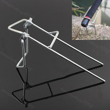 Good deal New Practical Fishing Accessory Adjustable Rod Pole Bracket Holder Fishing Tool(China)