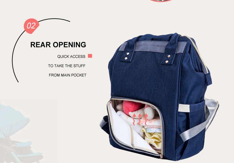 PYETA Fashion Mummy Maternity Nappy Bag Brand Large Capacity Baby Bag Travel Backpack Desiger Nursing Bag for Baby Care 11