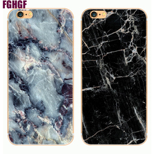 "2017 Phone Cases For iPhone 5 Case hard Granite Marble Stone image Painted Back Cover For iphone5 5S SE 6 6S 4.7"" Plus 5.5"" Capa(China)"