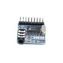 wholesale 1pcs MT8870 DTMF Voice decoding module phone module(China)