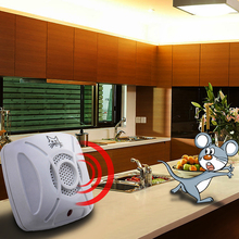 110v-240v AC 50/60Hz Ultrasonic Electronic Pest Control Repeller Home Garden Rat Mosquito Mouse Insect Killer EU/US Plug