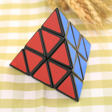 3X3X3 Pyramid Triangle Shaped Third Order Magic Cube Puzzle Twist Funny Toys Gift