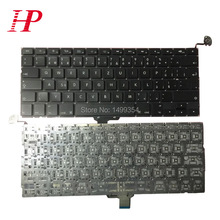 New A1278 Czech Keyboard For Apple Macbook Pro 13'' A1278 Keyboard Czech Standard 2009-2012(China)