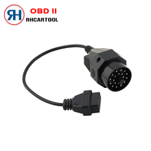 OBD OBD II Adapter for BMW 20 pin to OBD2 16 PIN Female Connector e36 e39 X5 Z3 for BMW 20pin Free Shipping(China)