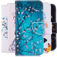 "PU Leather Wallet Mobile Phone Cases For LG K7 LTE Tribute 5 LS675 Q7 LTE MS330 5.0"" Back Protection Case Covers shell Skin Bags"
