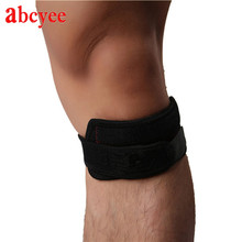Leg Support Elastic(Rubber) Kneepad Joelheira for Sports Knee Protector Guard Brace Rodilleras Patella Protection Pads H Quality