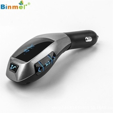 Superior Quality Car Kit Handsfree Wireless Bluetooth LCD MP3 Player USB Charger FM Radio Mar29