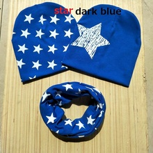 fashion 3pcs in set love PAPA MAMA baby hat scarf star cap for infant