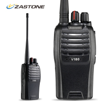 Zastone ZT-V180 Professional FM Transceiver VHF 136-174MHz 7W 16CH Scanner 2200mAh FM Radio Walkie Talkie Two Way CB Ham Radio