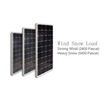 2 Pcs/Lot Solar Panel 100W 12v Solar Panels Modules 200W 18V Solar Battery Charger Marine Boat Yacht Camping LEDs Caravan