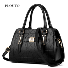 Plouto 2017 Women Designer Handbags Shoulder Bag Beauty Bow Women Tote Boston Messenger Bags For Female Bolsas Femininas(China)
