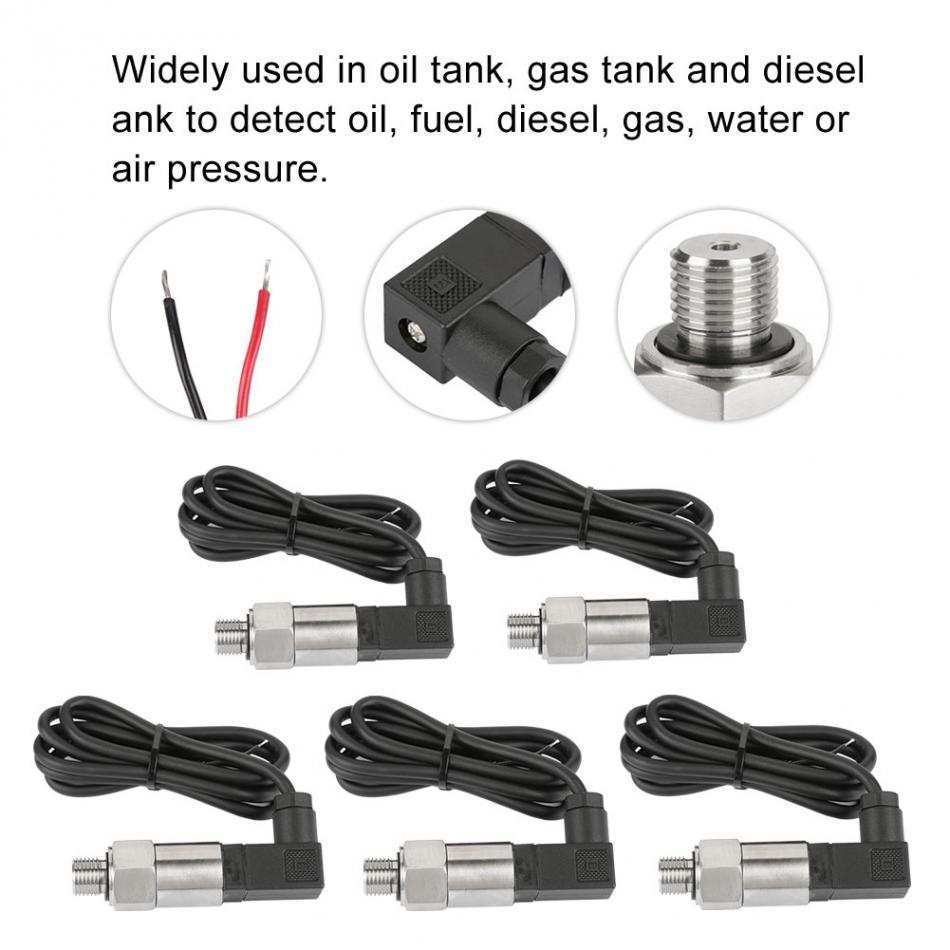 "4-20mA Output G1//4/"" Pressure Transmitter for Water Gas Oil Fuel Pressure Sensor"