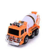 New Kids Electric Toy Car Engineering Vehicle Lamplight Music Universal Cement Mixer Simulation Educational Toy Car Models