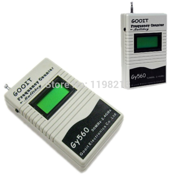 GY560 Digital Frequency Counter for Two Way Radio Transceiver GSM 50 MHz-2.4 GHz<br><br>Aliexpress