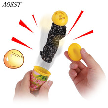 (AOSST)Scary Candy Jar Voiced Shock Me Halloween Funny Child Kids plastic Party Festival Gift Just For fun Hang out together(China)