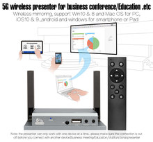 Presentation System MiraBox With IR 3.5mm Audio Output Support IOS Android Windows PC ipad iphone For Presentation Home Theater