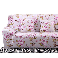 Floral Printing Stretch Sofa Cover Elastic Couch Cover Loveseat Chair L shaped Sofa Case For Living Room Home Decor 20 Styles
