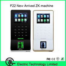 New arrived F22 fingerprint access control time attendance machine Finger print door lock system optional ID or IC card reader
