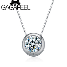Wholesale 100% Real Pure 925 Sterling Silver pendant fit necklace Zircon charm top quality fine jewelry free shipping CCMA140