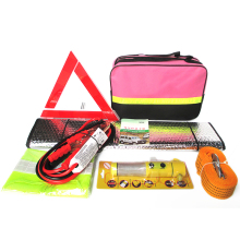 Automotive Emergency Kit Vehicle Rescue Package Battery Line tow rope Emergency Triangle Multi-function Safety Hammer DHL Free