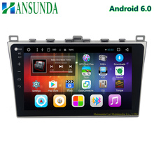 quad core HD 1024*600 10.1 inch android 6.0 car dvd player for MAZDA6 MAZDA 6 with radio/RDS/DAB+ 3G 4G WIFI BT SWC subwoofer
