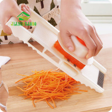 JiangChaoBo Slicer Vegetables Cutter With 4 Stainless Steel Blade Carrot Grater Onion Dicer Slicer Kitchen Accessories(China)