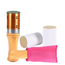 Moxibustion Moxa Stick Jade Eye Face Massager +Insulation Cover Body Warm Nerves Smoothing Pressure Relief Moxa Stick Massager(China)