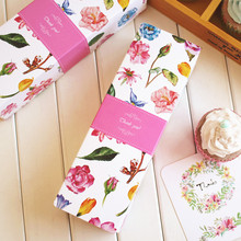Flower decoration macaron cookie packaging box chocolate gift boxes mooncake muffin biscuit box