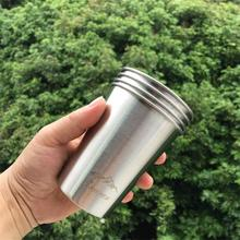 Axeman 350Ml Stainless Steel Wine Alcohol Cup Portable Mug Hip Flask Water Bottle Outdoor Travel/Camping/Cookware  Drinkware