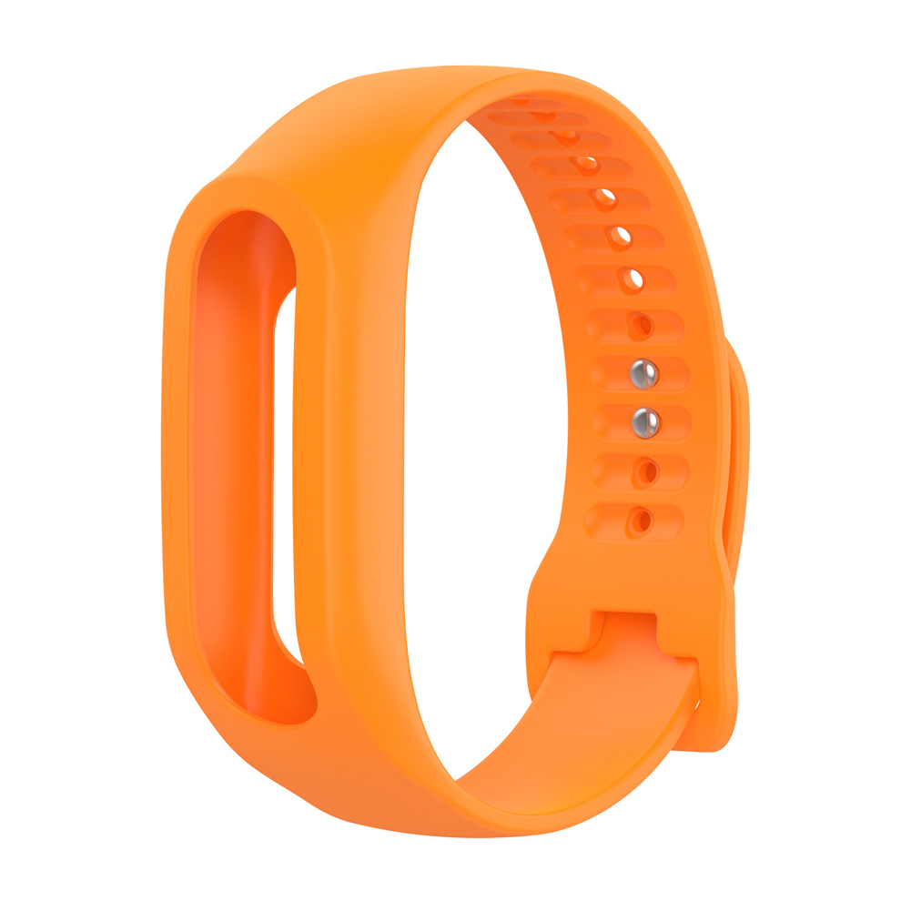 Soft Durable Colorful Strap Wristband Replacement Silicone Watchband Accessories for Tom Tom Touch Fitness Tracker Smart Watch 7