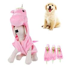 New Fashion Halloween Christmas Pet Dog Clothes Lovely warm Unicorn Small Horse Shape Dog Coats With Wing Dog Cat costumes 3