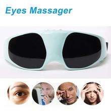 Protect Your Eyes New Safe Health Relaxation Mask Migraine DC Electric Care Forehead Eye Massager