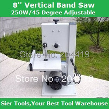 JF008 250W Vertical Band Saw/8'' Blade Wire Saw/ 45 degree adjustable Saw Machine