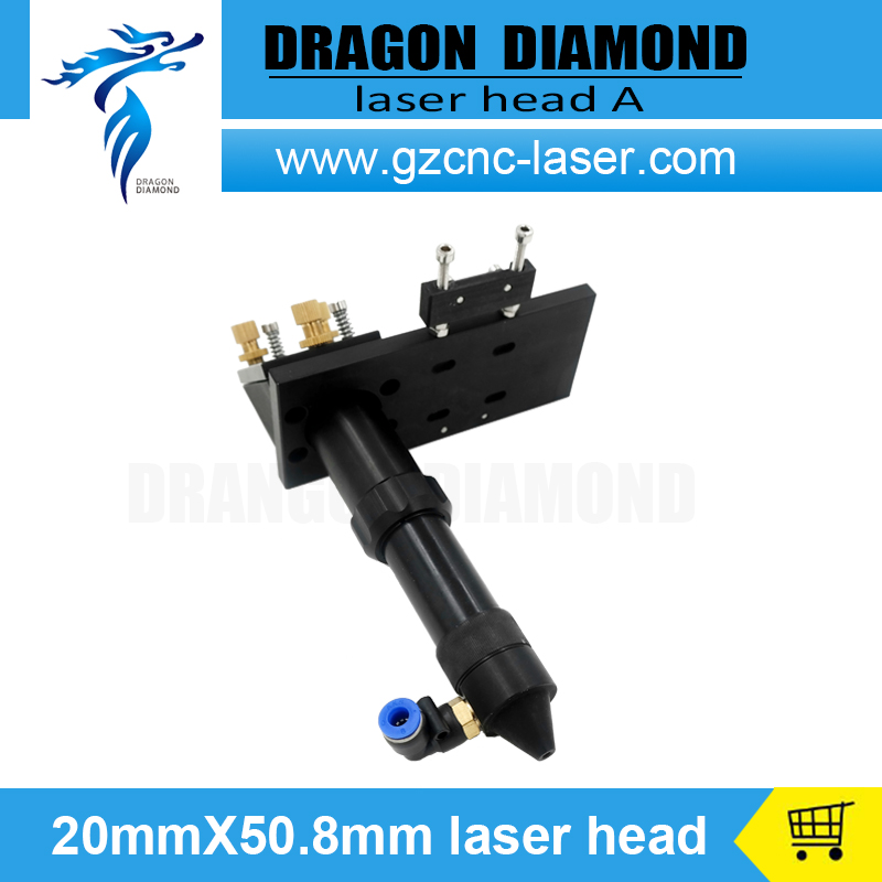 Hot Sale CO2 Engraver Cutter Laser Head Set 50.8mm Focal Focus Lens Mirror Integrative Mount<br><br>Aliexpress