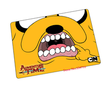 Adventure Time mouse pad  High quality game pad to mouse notebook computer mouse mat brand gaming mousepad gamer laptop