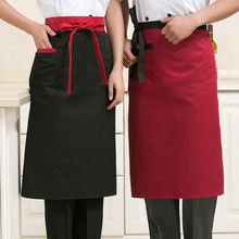 Shipping Restaurant Chef Hotel Uniforms Apron Body Red white Black Kitchen Apron more Optional Colors