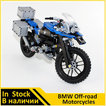 Building Blocks Model 20032 Compatible with Technic Figures The Off-road Motorcycles 42063 Toys For Children(China)