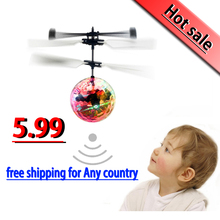 New Electronic Toys RC Flying Ball Drone Helicopter UFO Ball Altitude Induced Magic Ball Aircraft Colorful As ChristmasGift