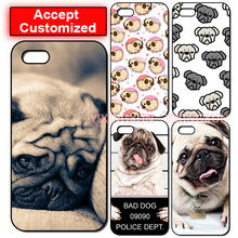 Pug Dog Shell Housing Case Cover for LG G2 G3 G4 G5 G6 iPhone 4 4S 5 5S SE 5C 6 6S 7 Plus iPod Touch 5 Sony Xperia Z2 Z3 Z4 Z5