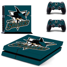 Buy NHL Team Logo PS4 Skin Sticker Decal Sony PlayStation 4 Console 2 Controllers PS4 Skin Sticker Vinyl for $7.31 in AliExpress store
